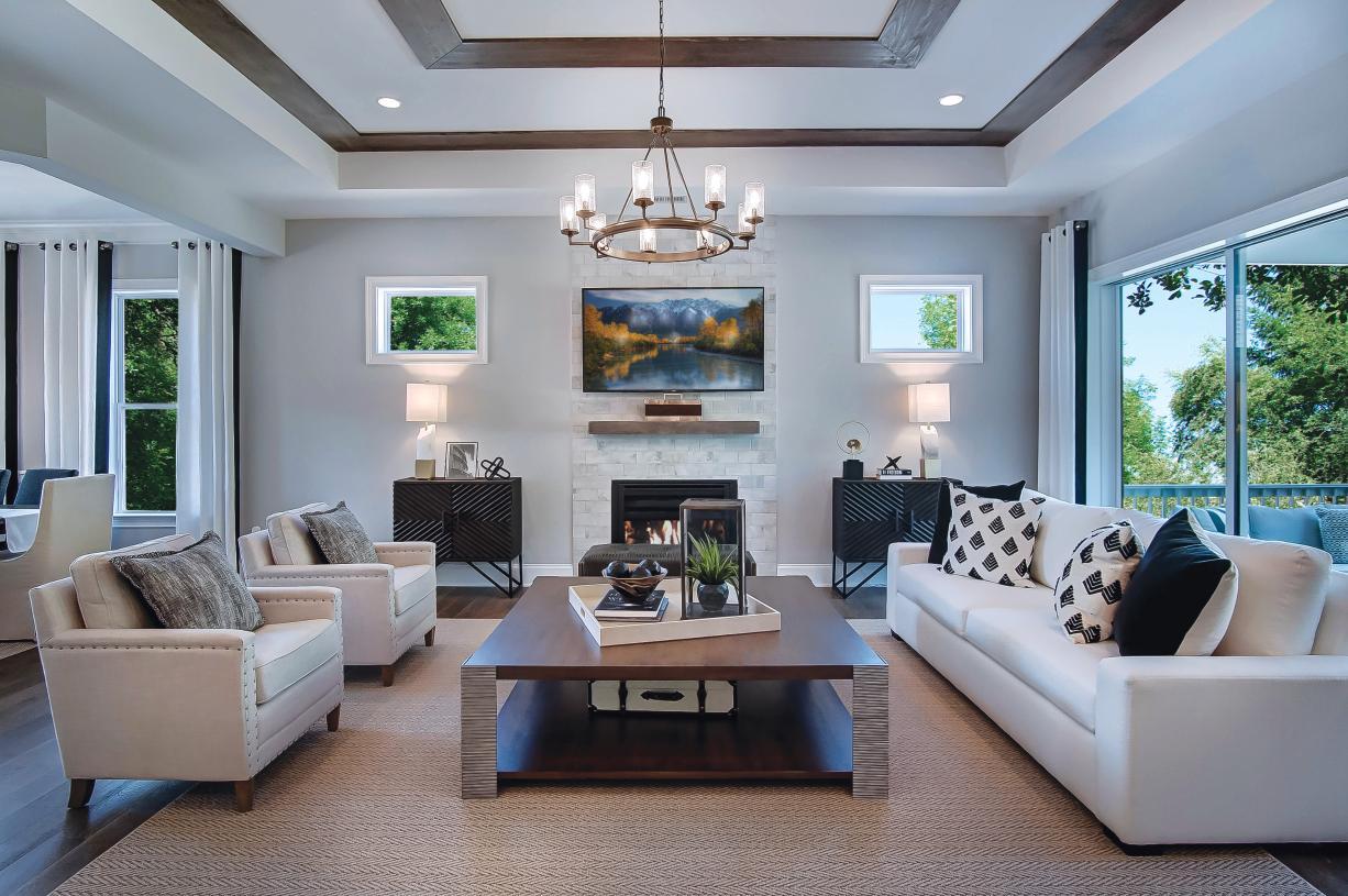 Home designs highlight modern, open-concept living