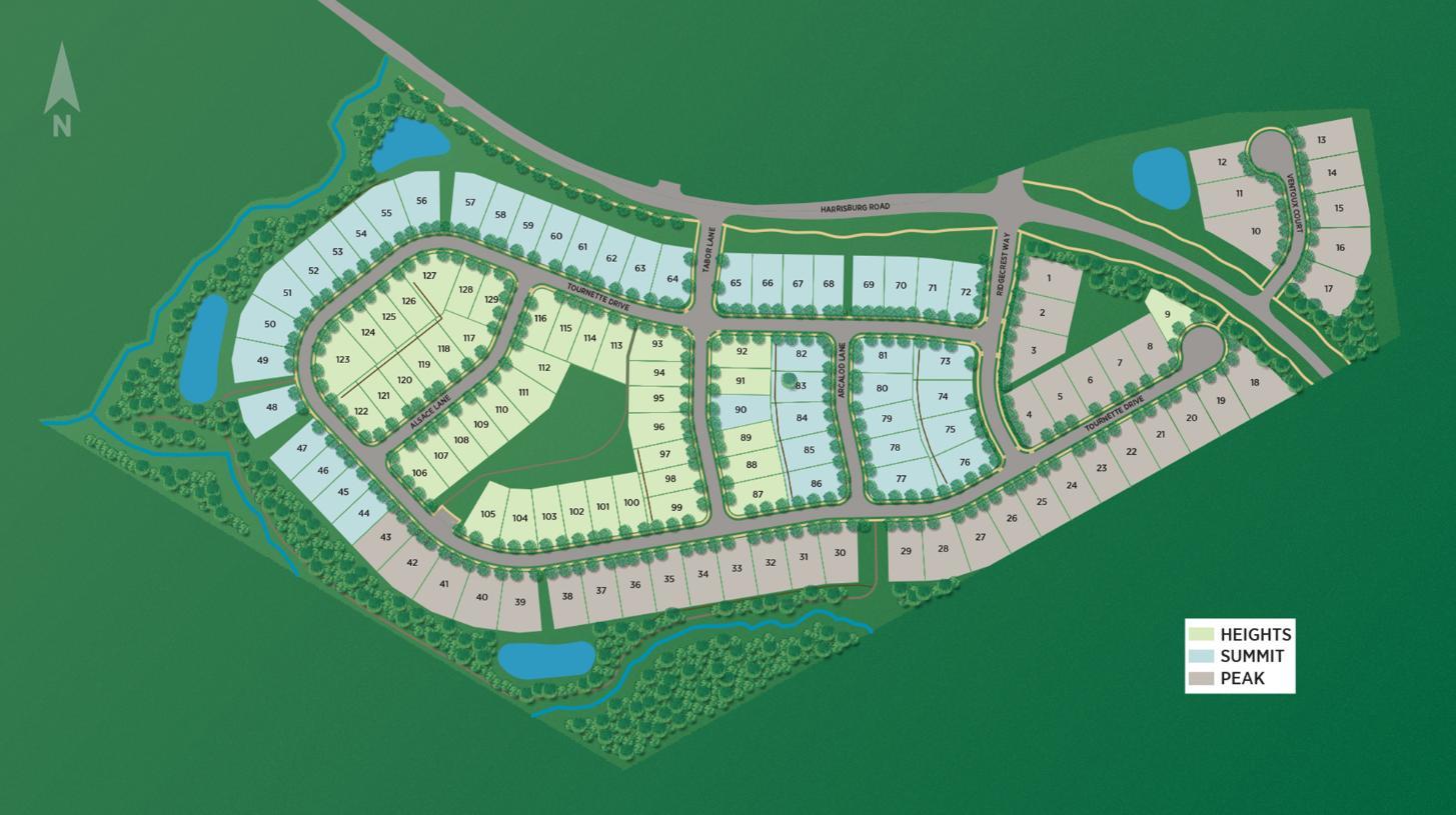 Ridgecrest Overall Site Plan