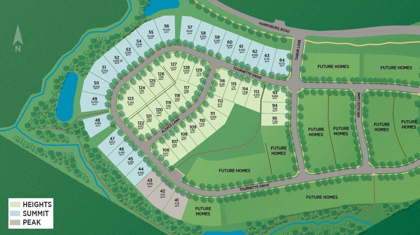 Ridgecrest Site Plan