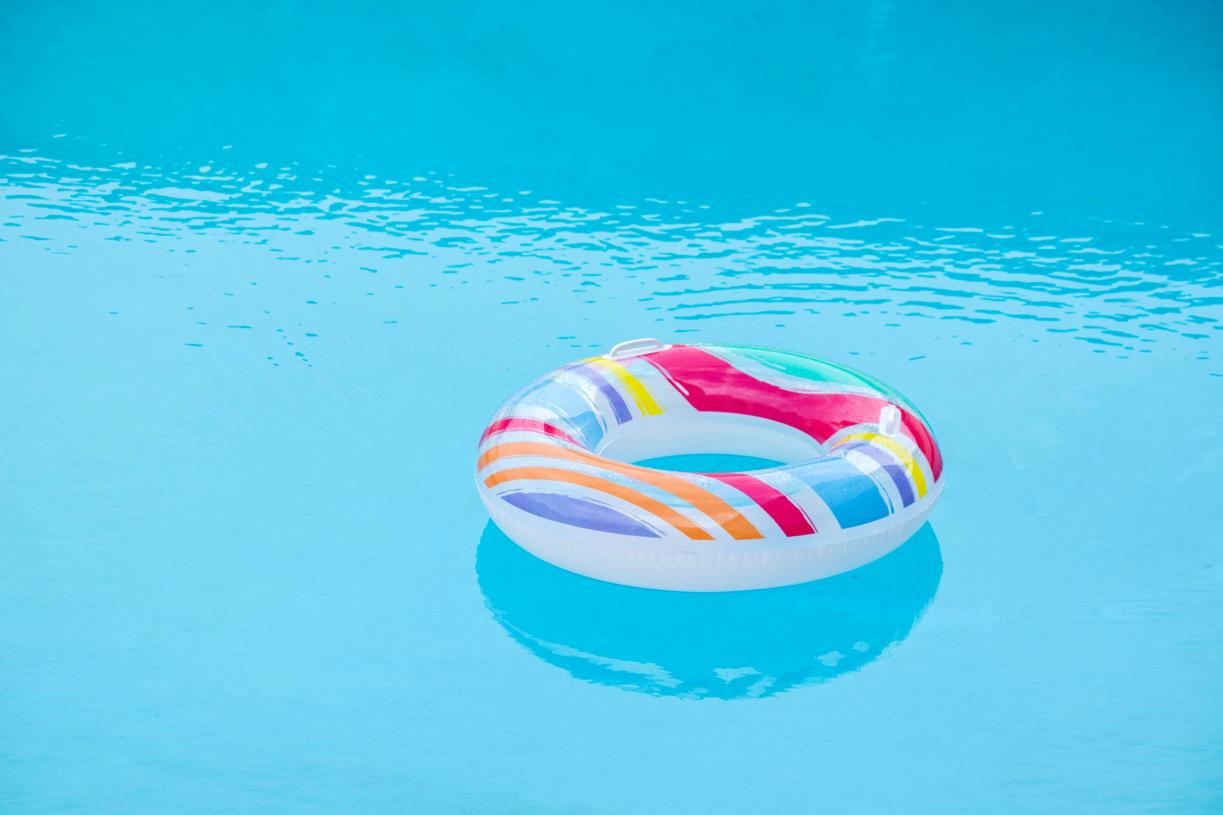 Soak in the sun at the community pool