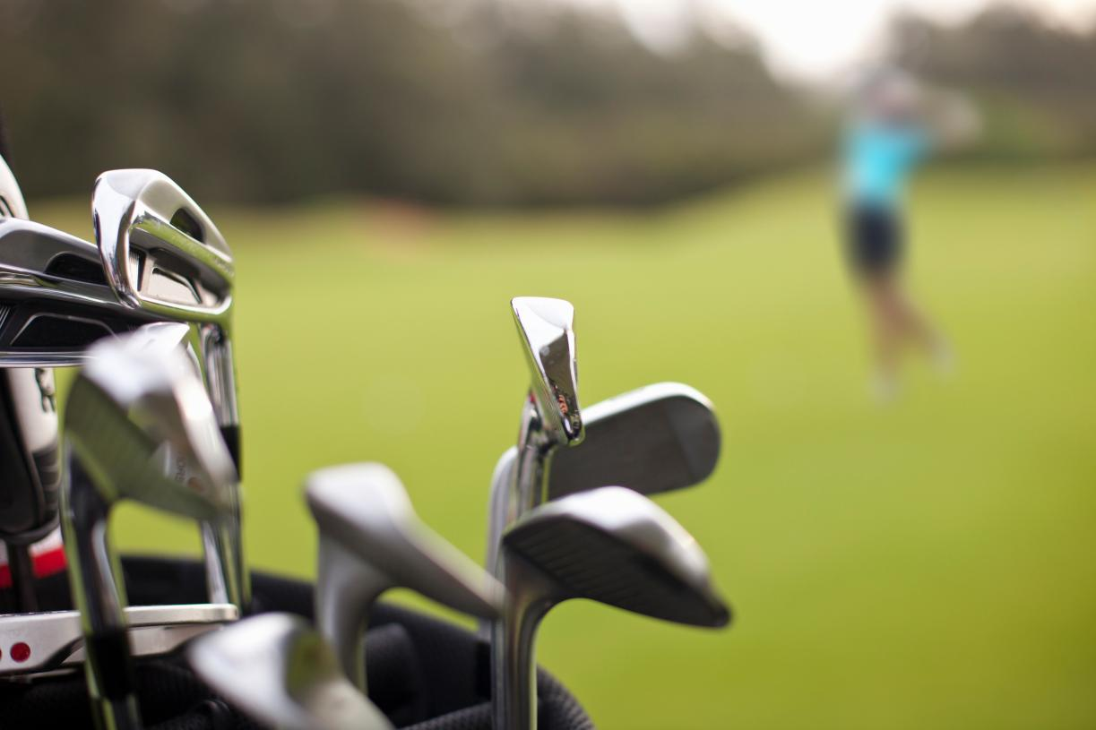 Practice your swing at Sienna's Golf Club