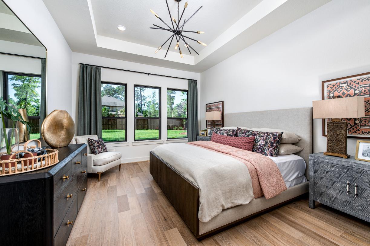 Lavaca's cozy primary bedroom retreat