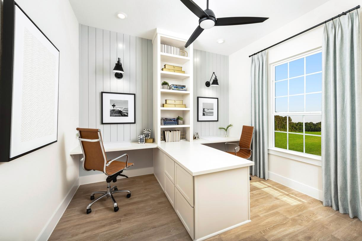 Private office ideal for remote working and learning