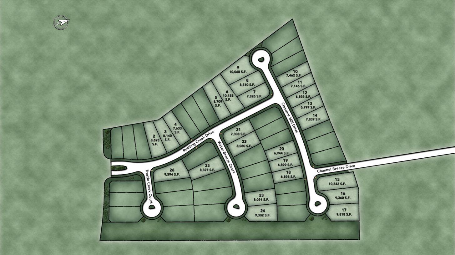 Sienna - Villa Collection Site Plan