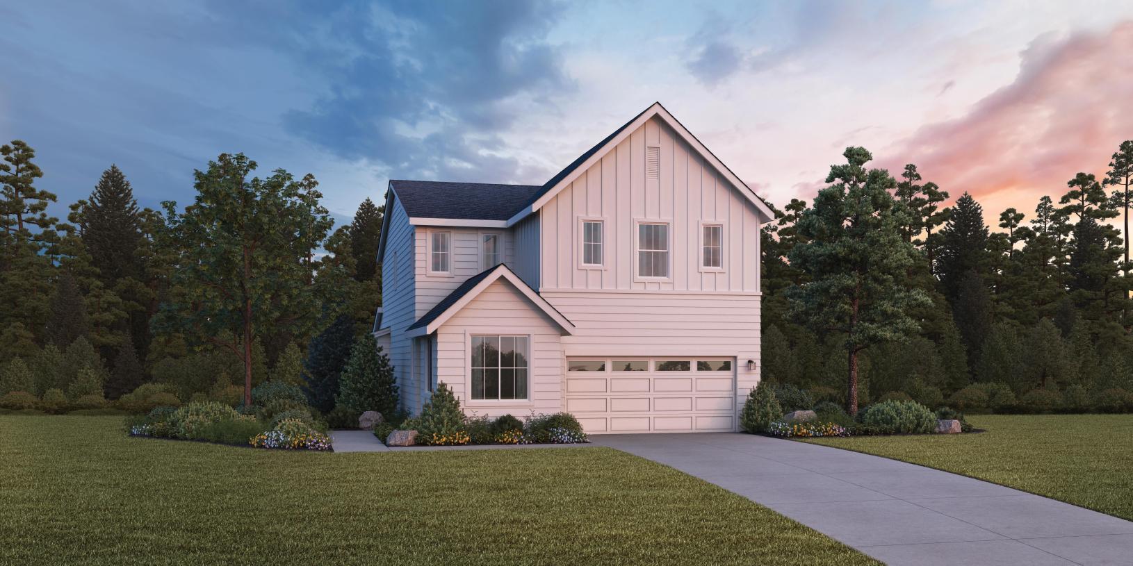 Cavalera will offer farmhouse architecture