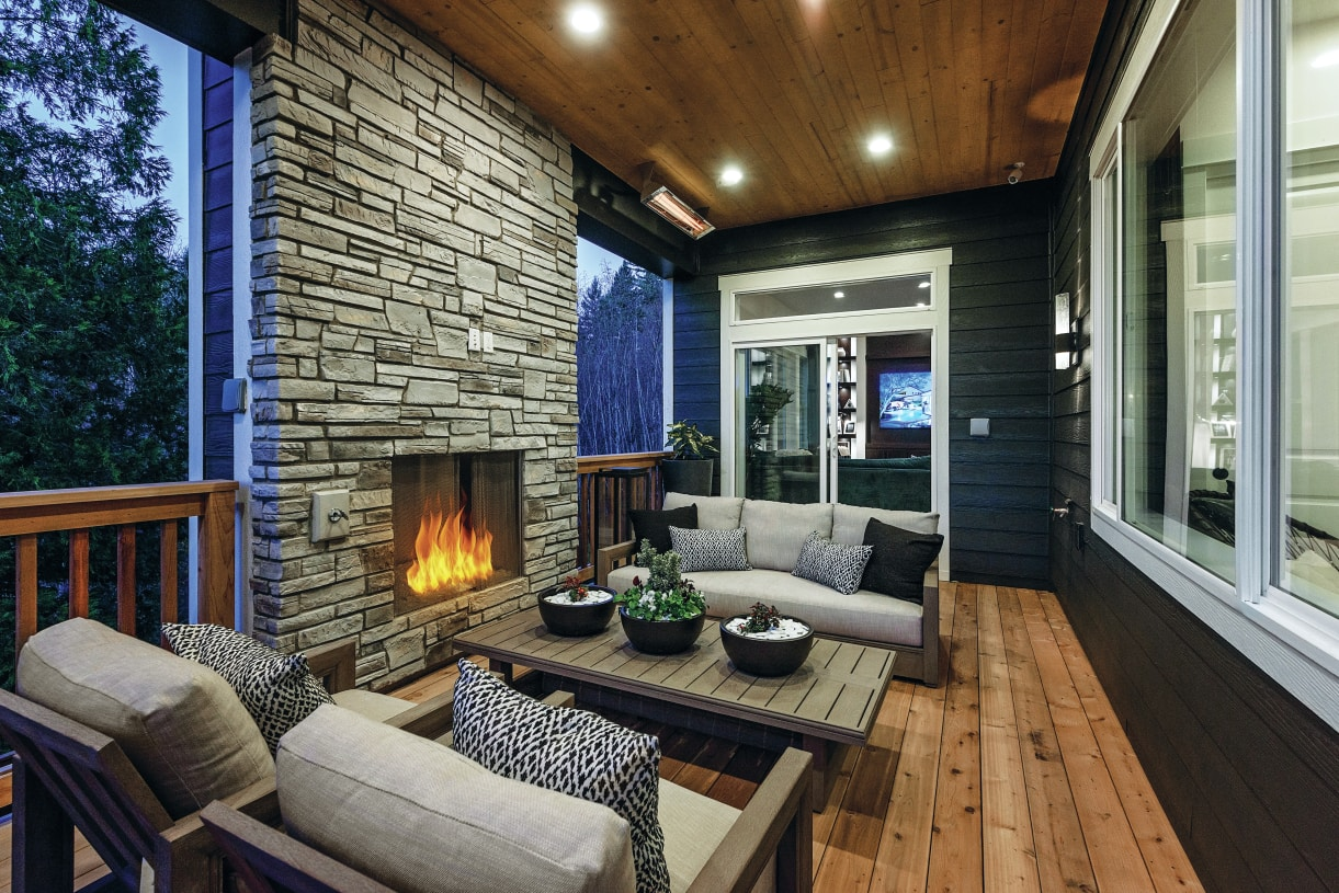 Home designs include covered outdoor living to enjoy the outdoors year-round