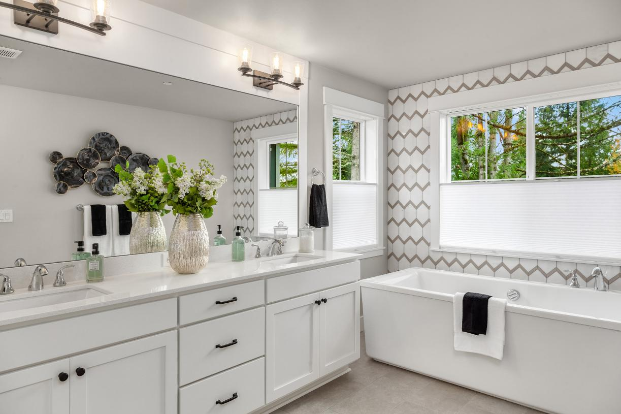 Make selections to personalize your home's finishes at our Design Studio
