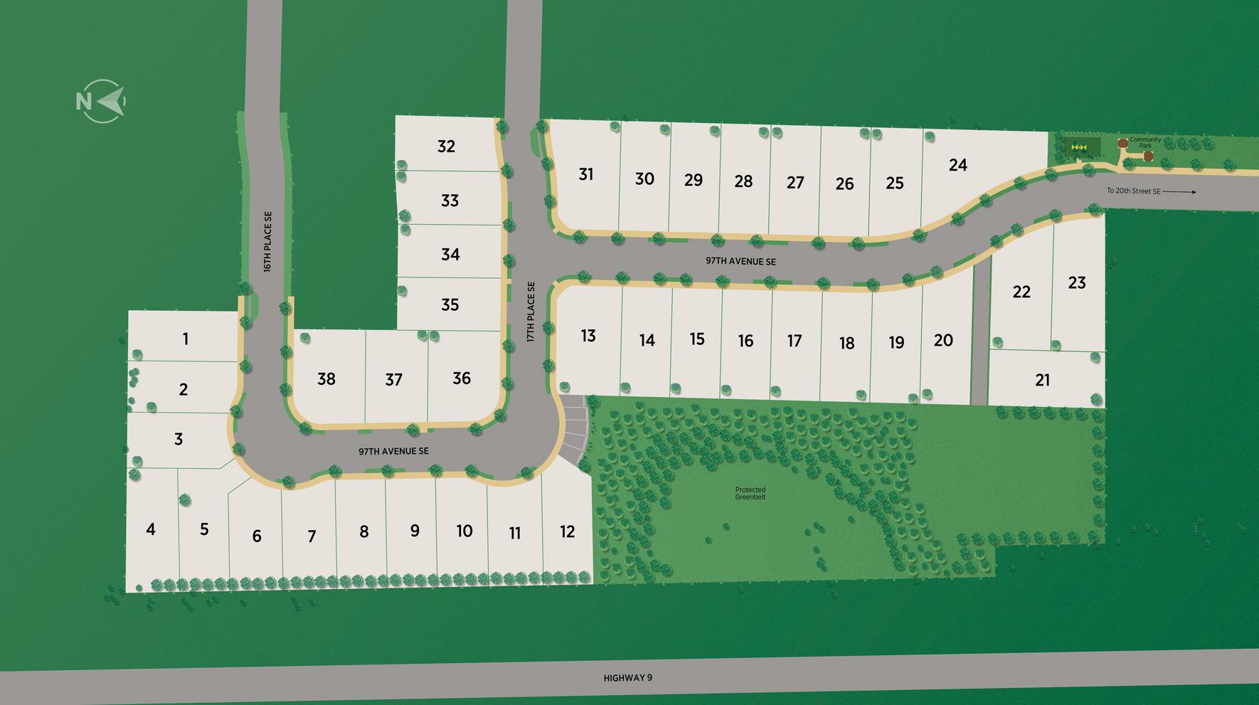 Cavalera Site Plan