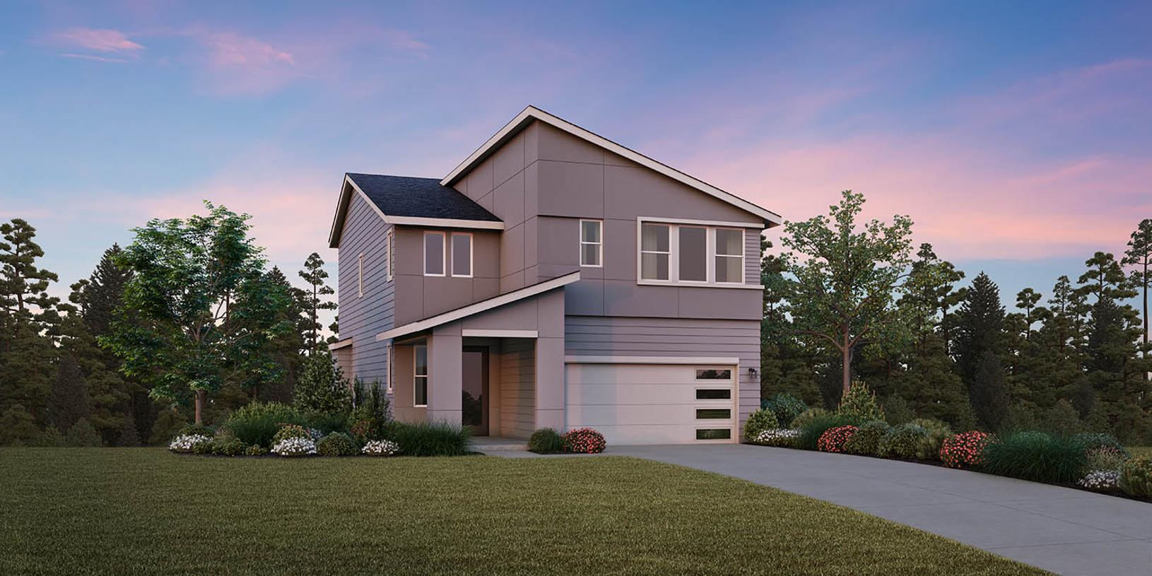 Glacier with Basement - Northwest Contemporary