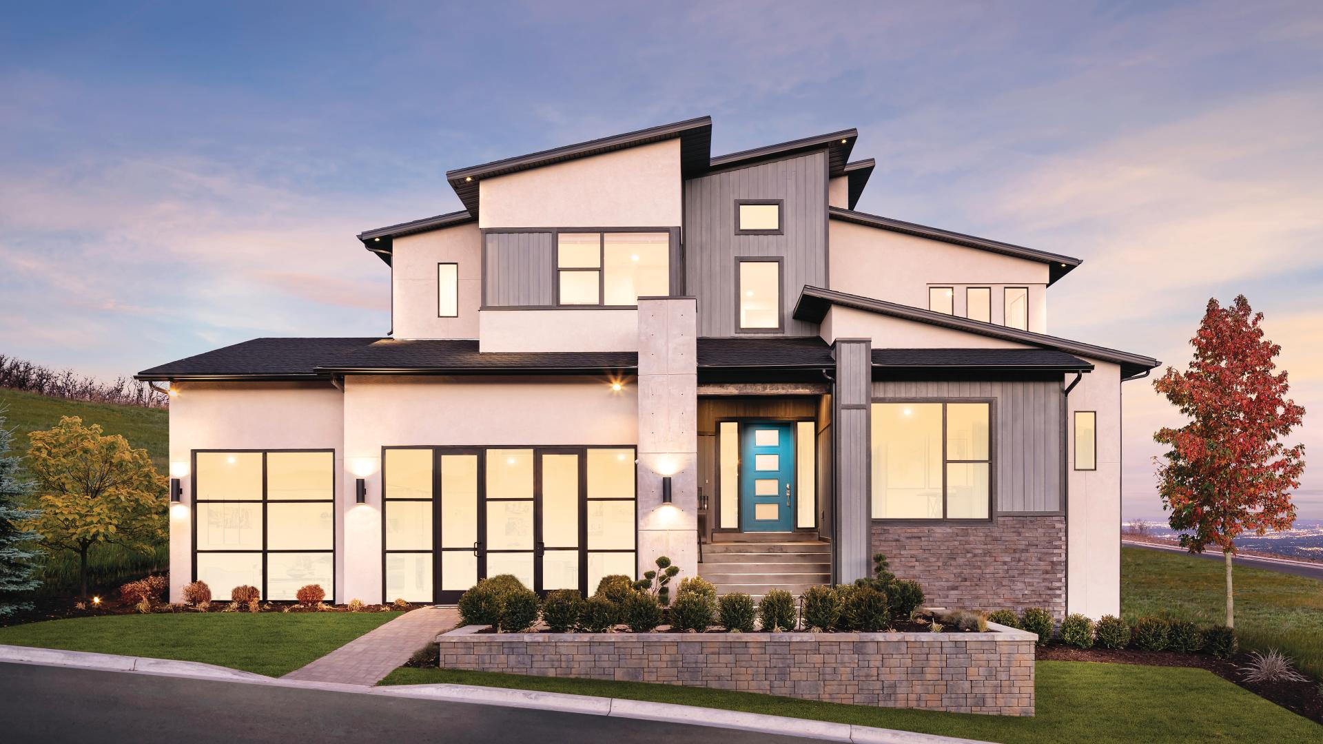 Diverse architectural styles to choose from