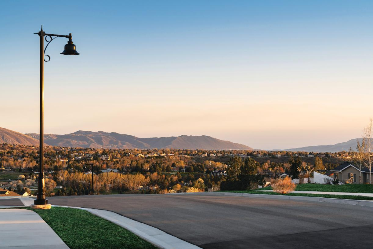 Community views of the Cottonwood Heights Valley and beyond