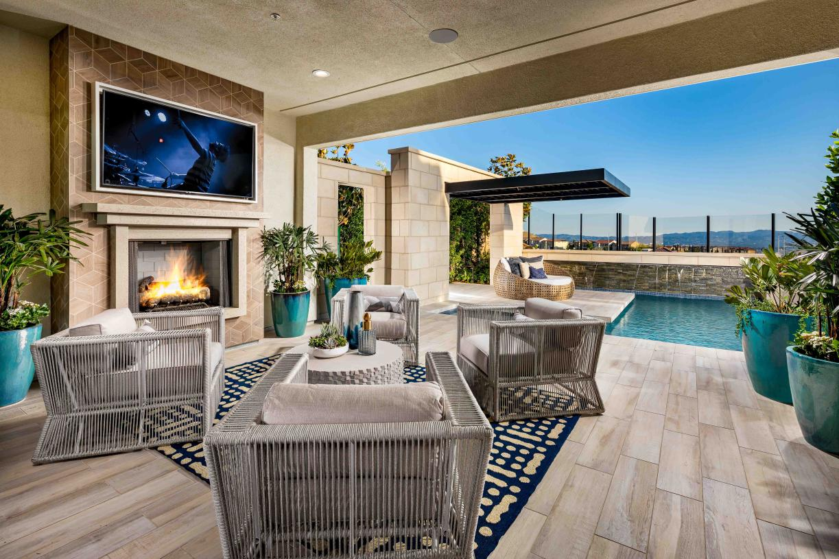 Luxury outdoor spaces