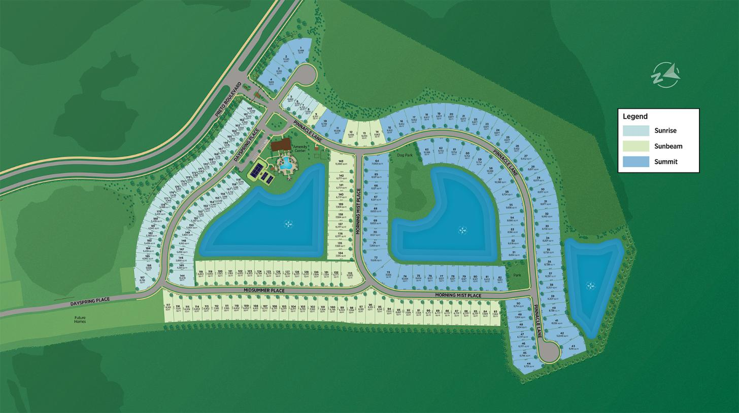 Solstice at Wellen Park Overall Site Plan
