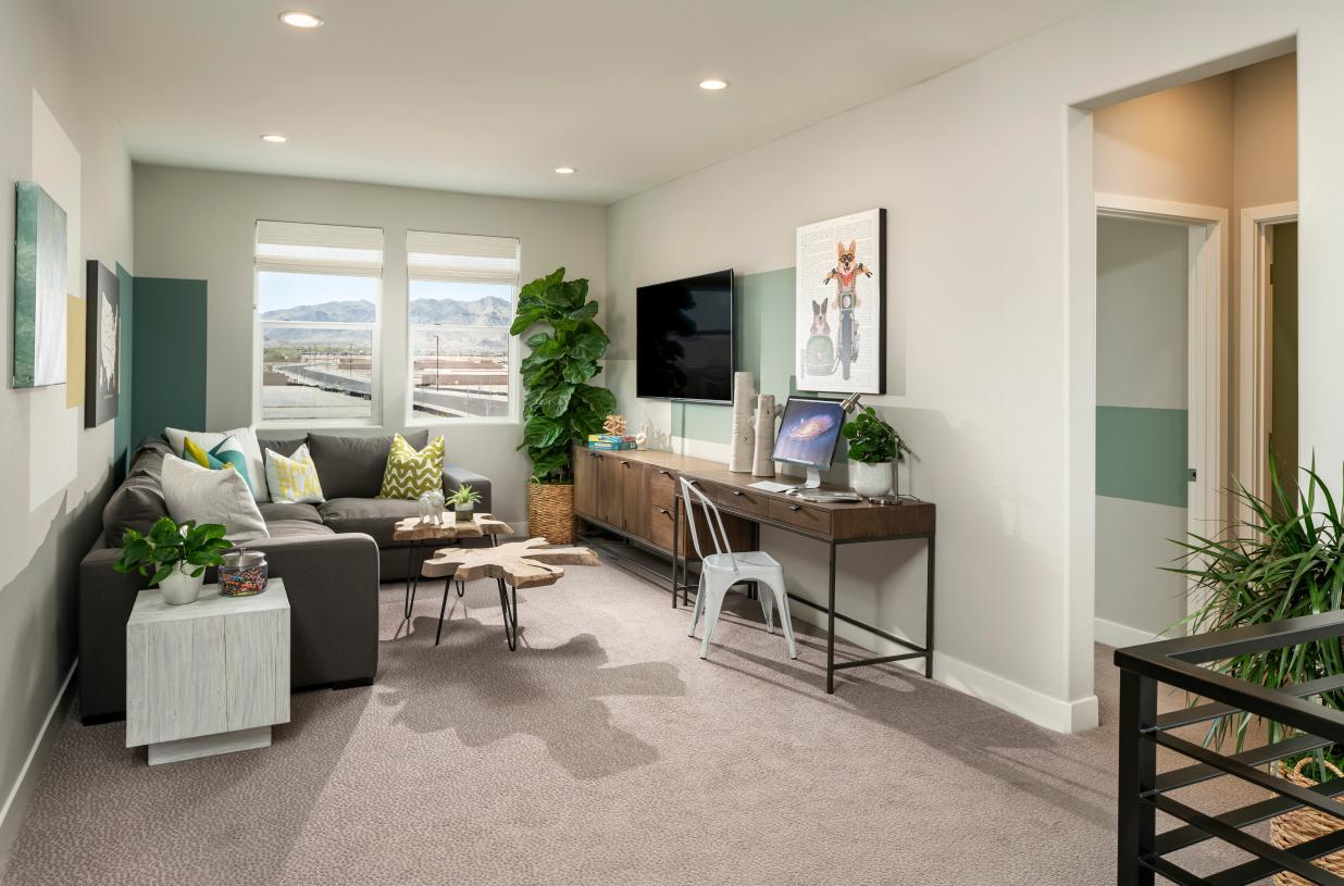 Versatile second-floor loft with endless possibilities
