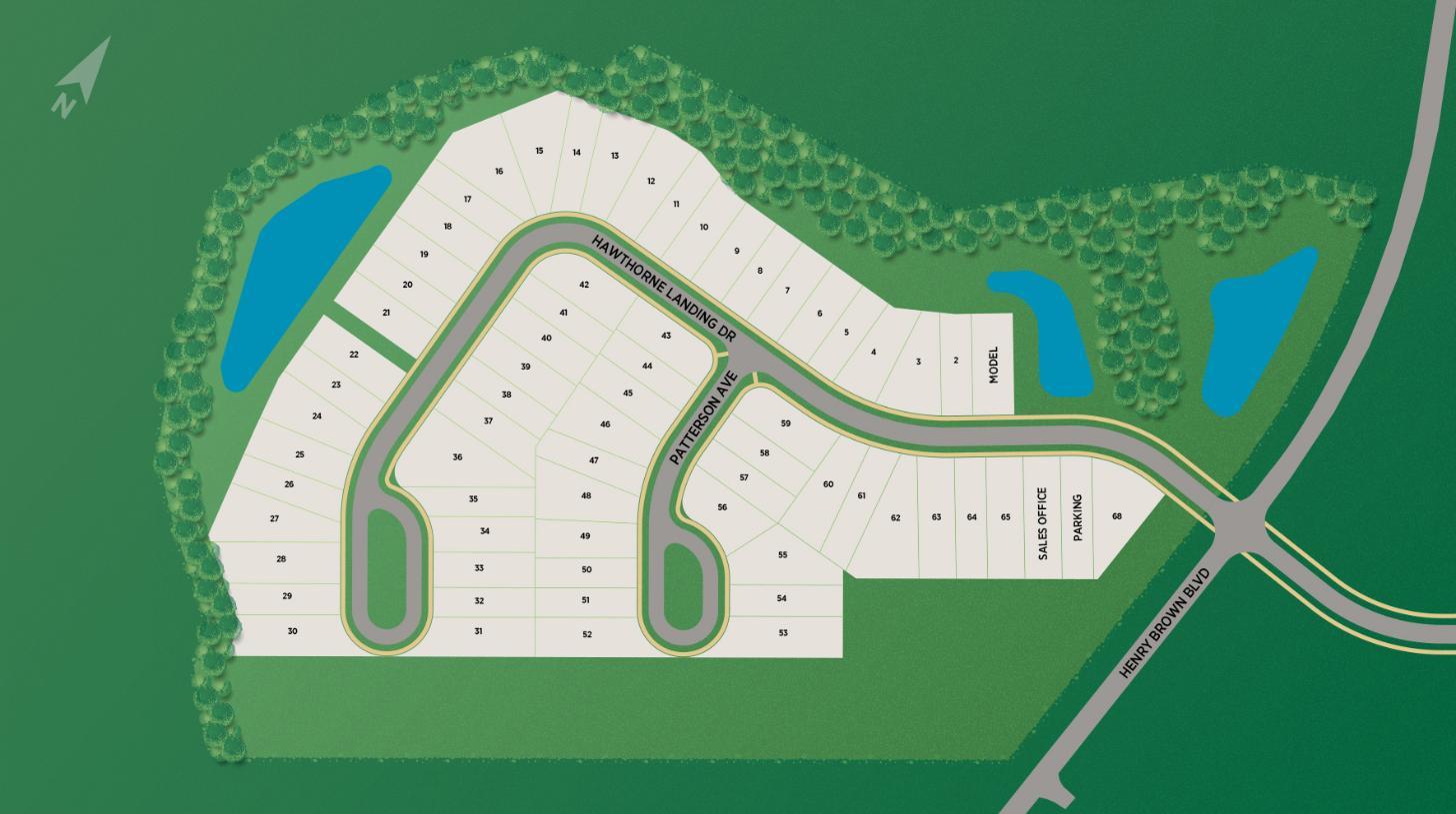 Hawthorne Landing Site Plan