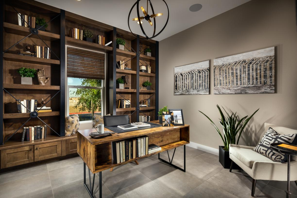 Work from home, or plan your vacation in the perfect home office