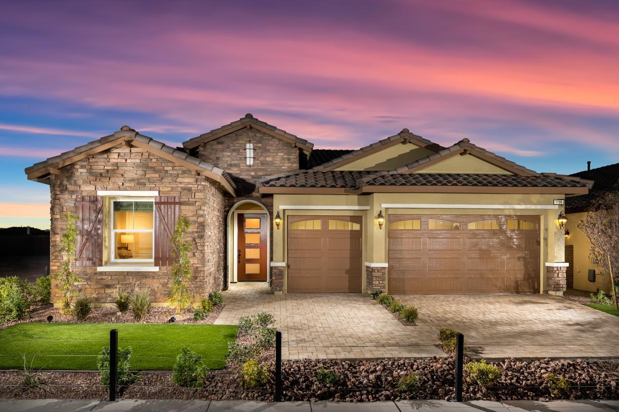Distinctive exterior designs to create a unique neighborhood