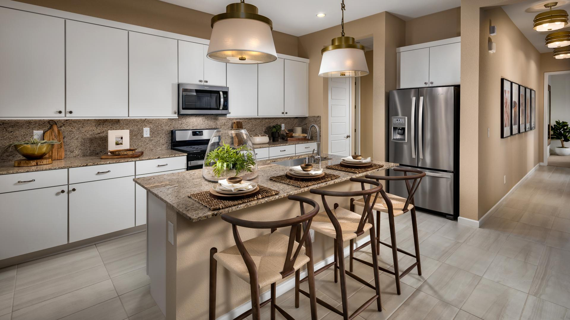 Modern kitchen designs with ample counter space