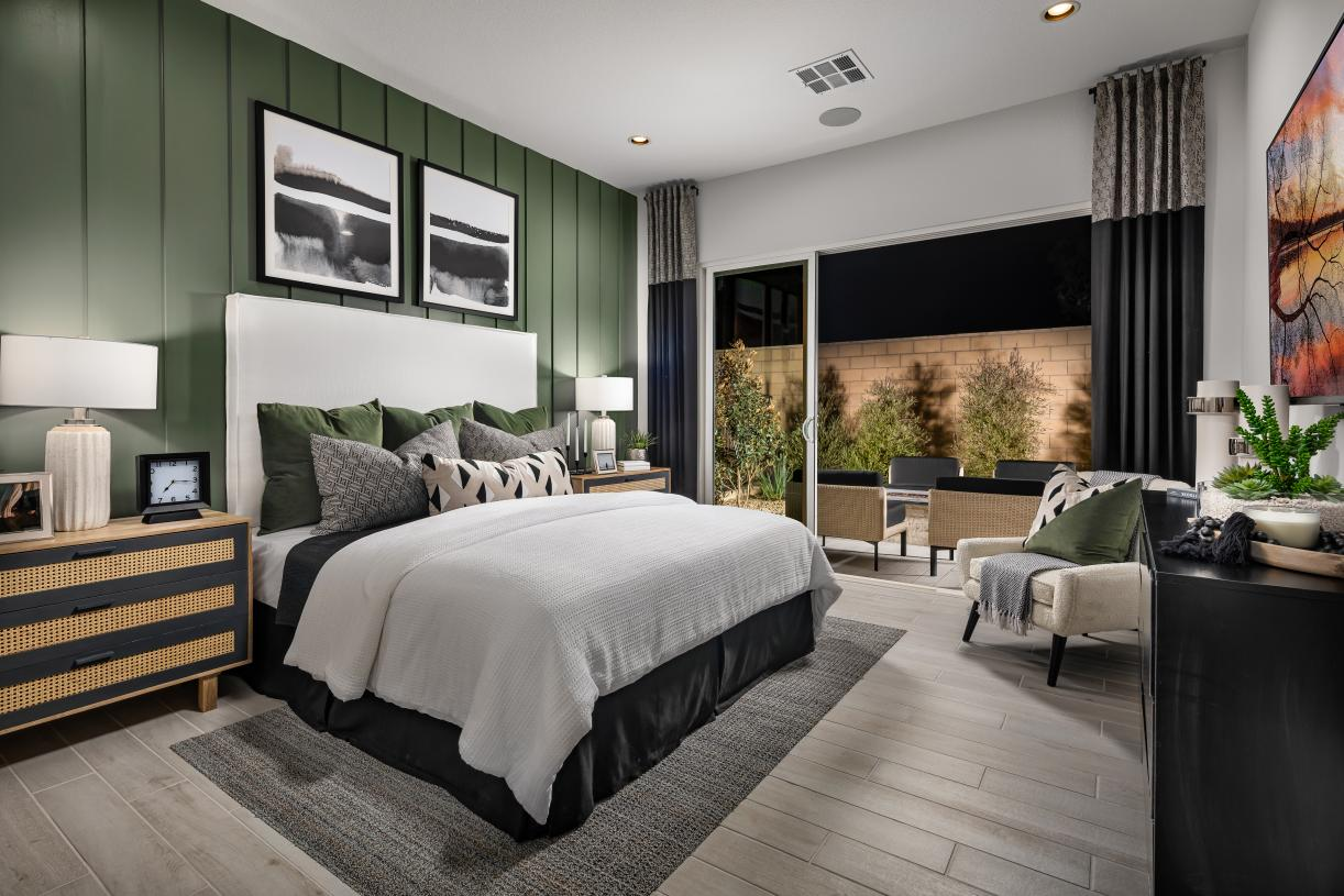 Private and spacious primary bedroom suites