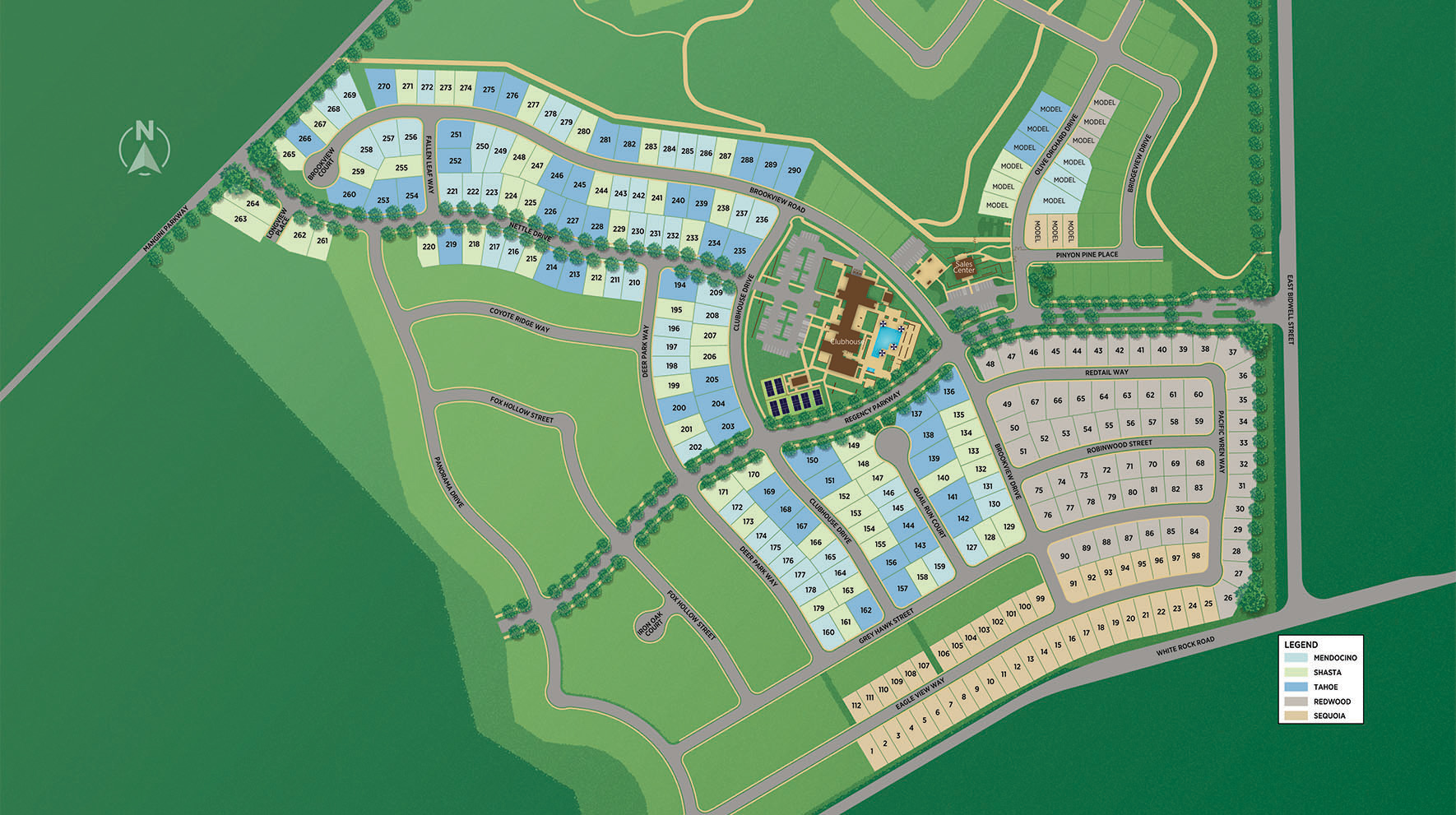 Regency at Folsom Ranch - Redwood Collection Site Plan