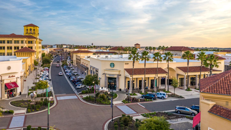 Enjoy shopping at nearby Palladio Shopping Center