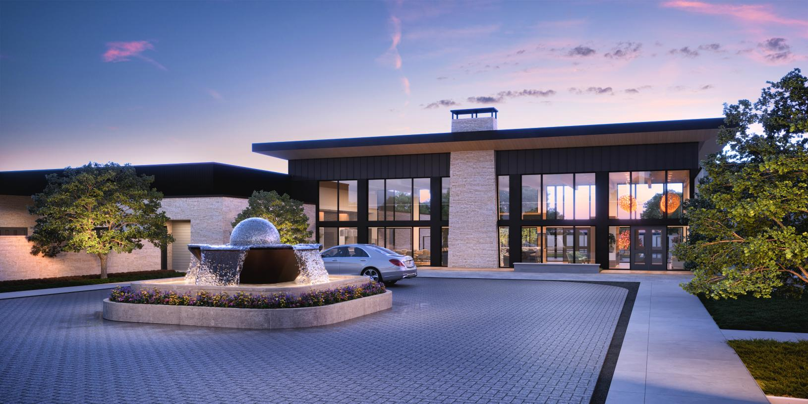 Expansive 18,000-square-foot resort-inspired clubhouse and fitness center