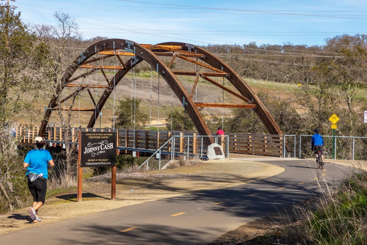 Take a walk or hike through Johnny Cash Trail