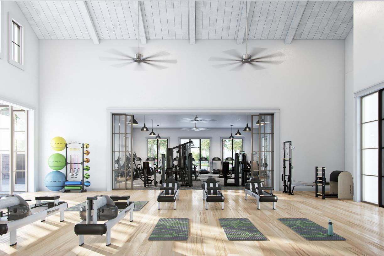 Clubhouse amenities include state-of-the-art fitness center, movement studio, and more