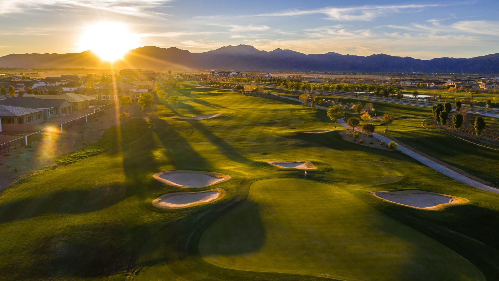 Enjoy beautiful golf course and mountain views