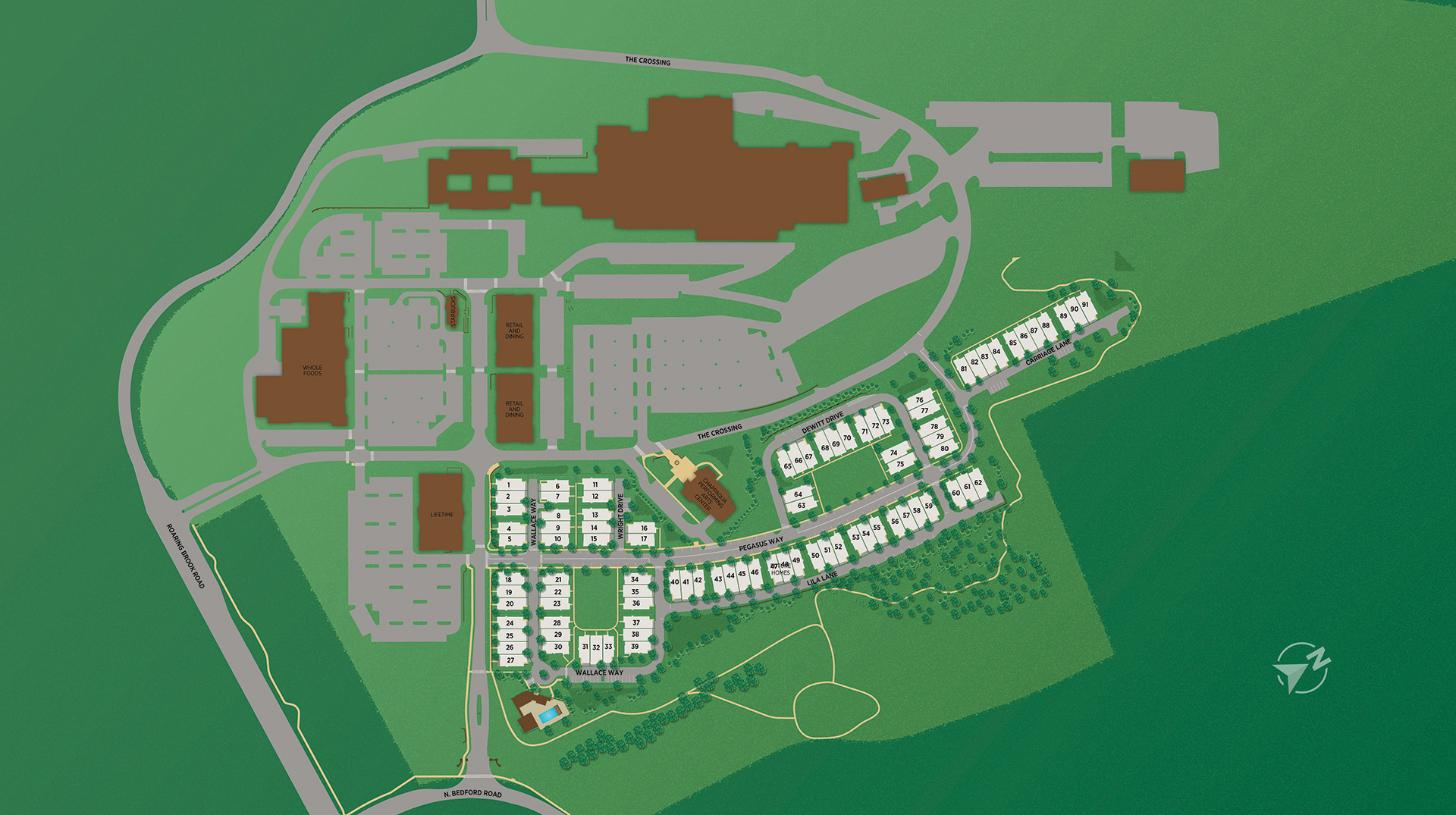 Chappaqua Crossing Carriages Site Plan