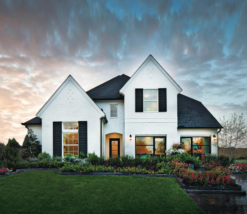 The modern and timeless details of the Lindale Classic home