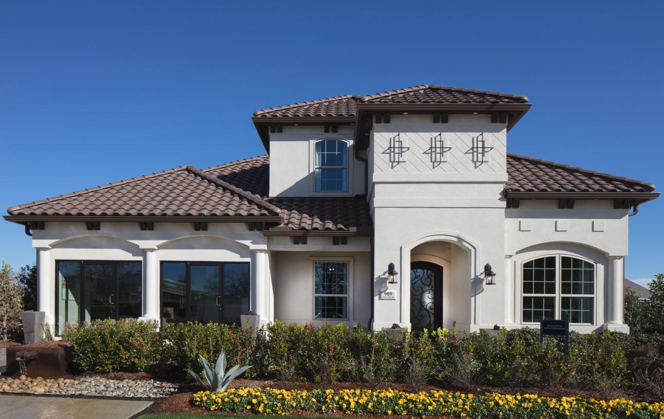 The sophisticated and comfortable details of the Neches Mediterranean