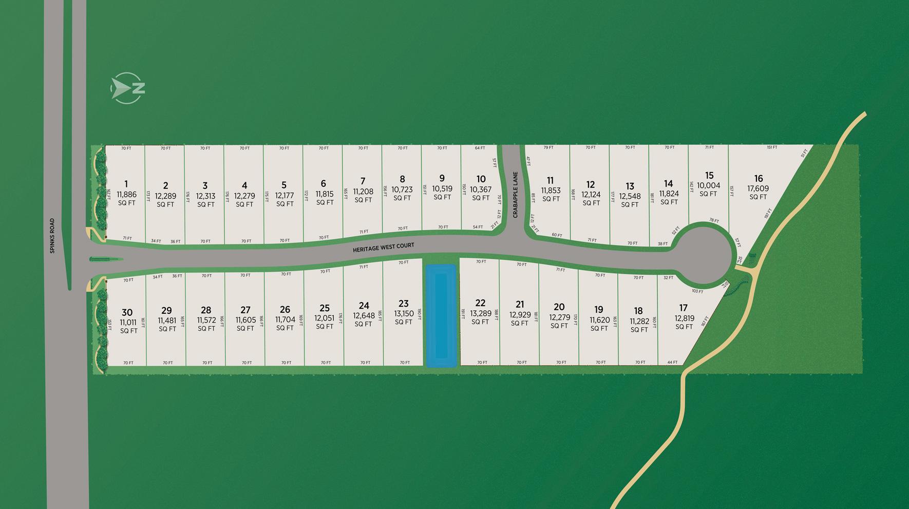 Heritage West - Site Plan