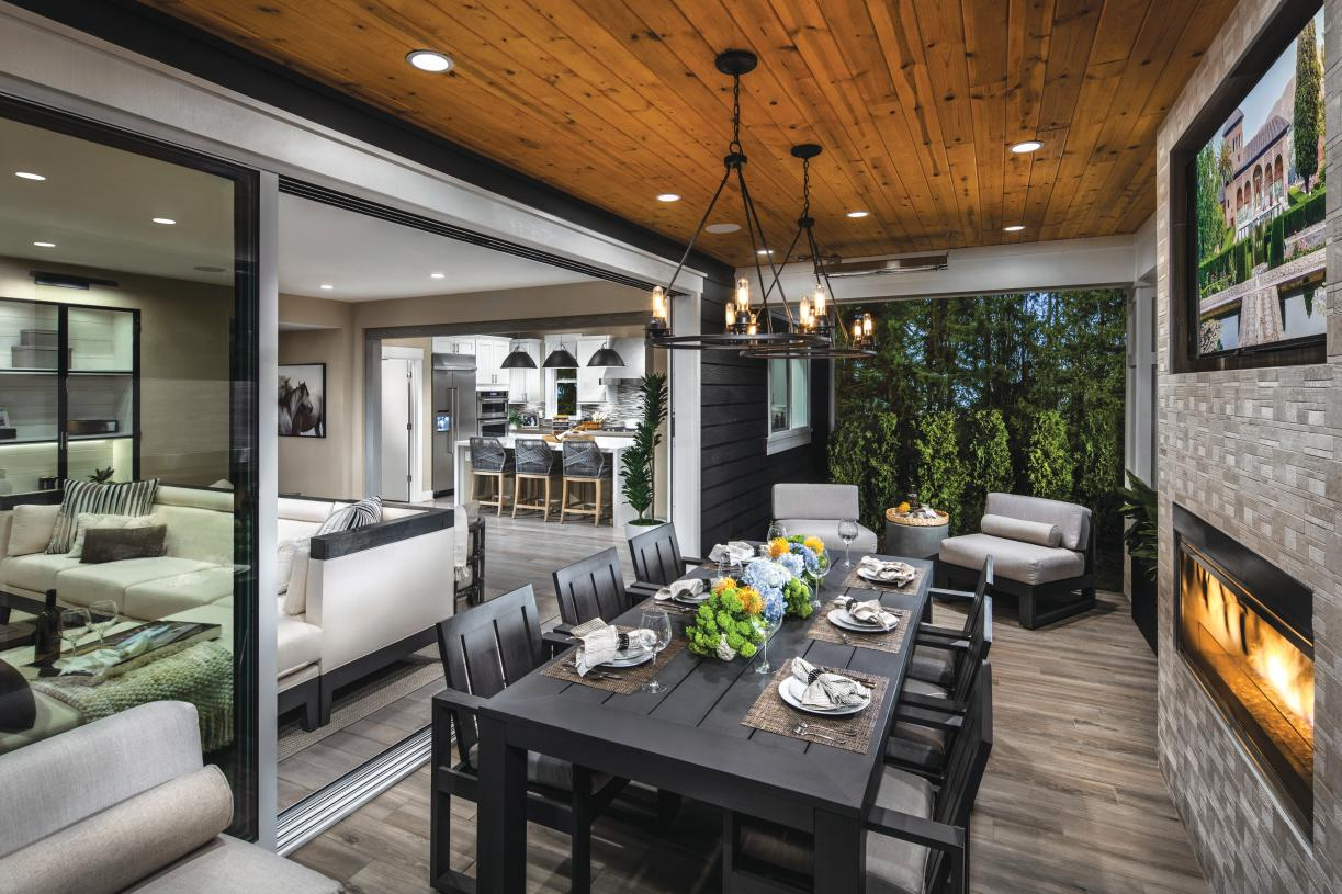 Entertain in style with seamless indoor-outdoor living