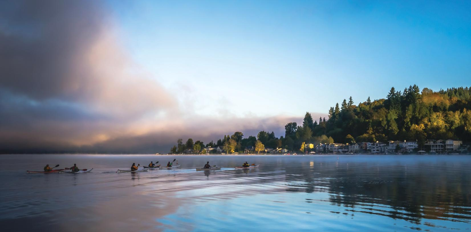 531-acre Lake Sammamish State Park is just minutes away with beach access and a boat launch for water activities