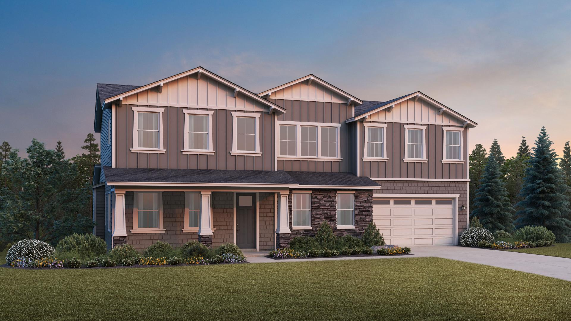 Spacious 6-bedroom Johnston with Basement home design