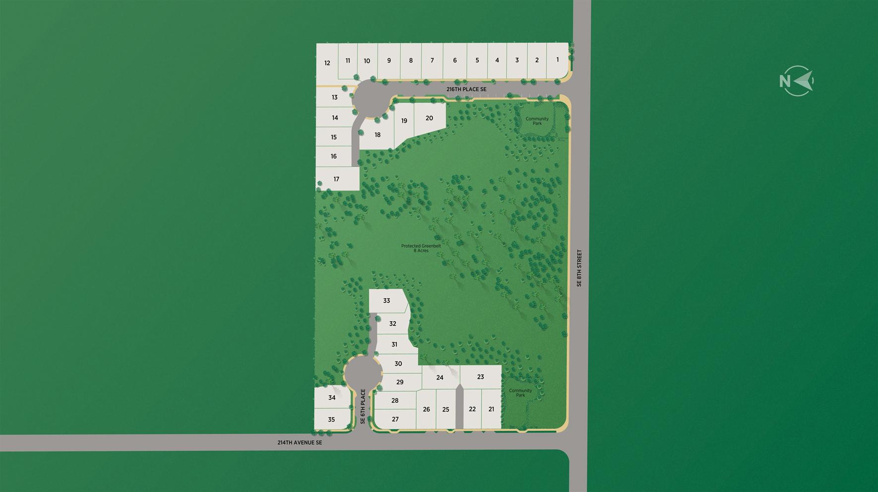 Stone Creek at Sammamish Site Plan