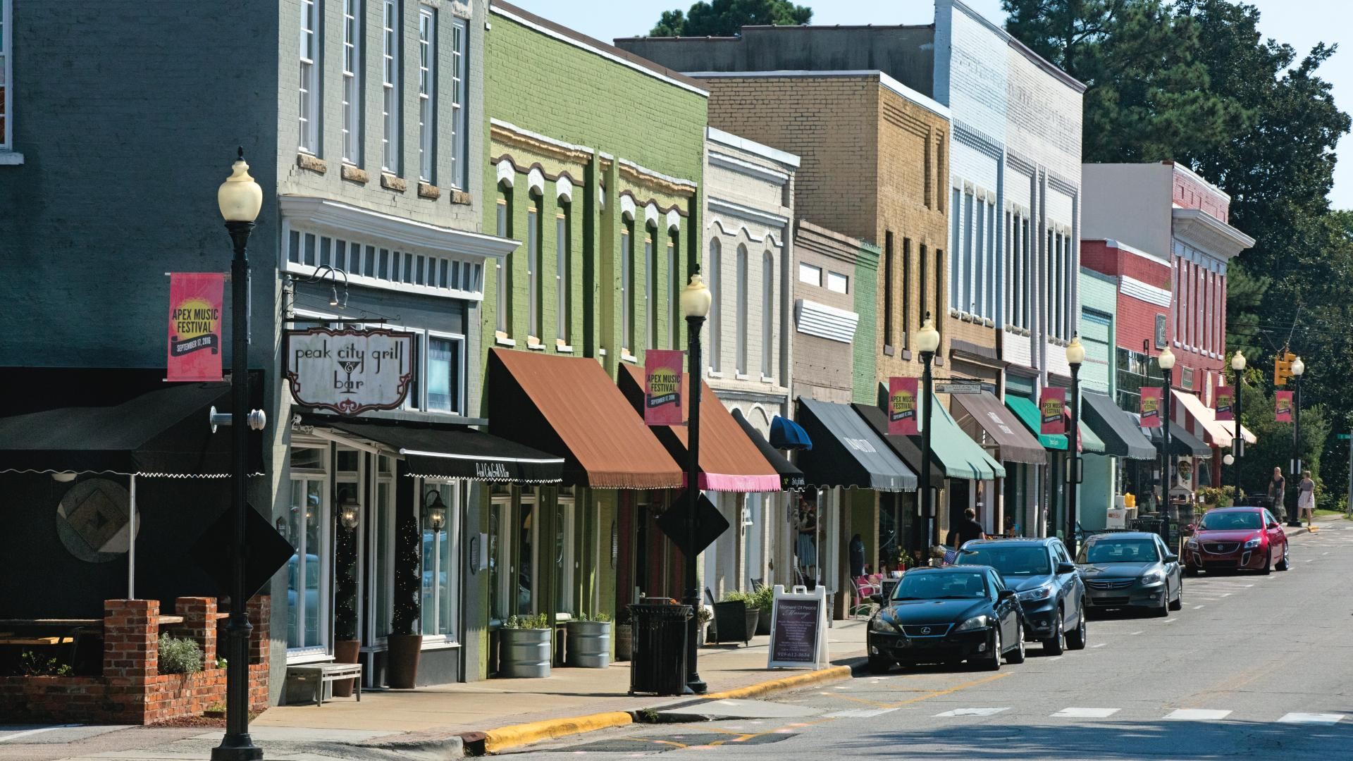 Discover the history and charm of nearby Downtown Apex