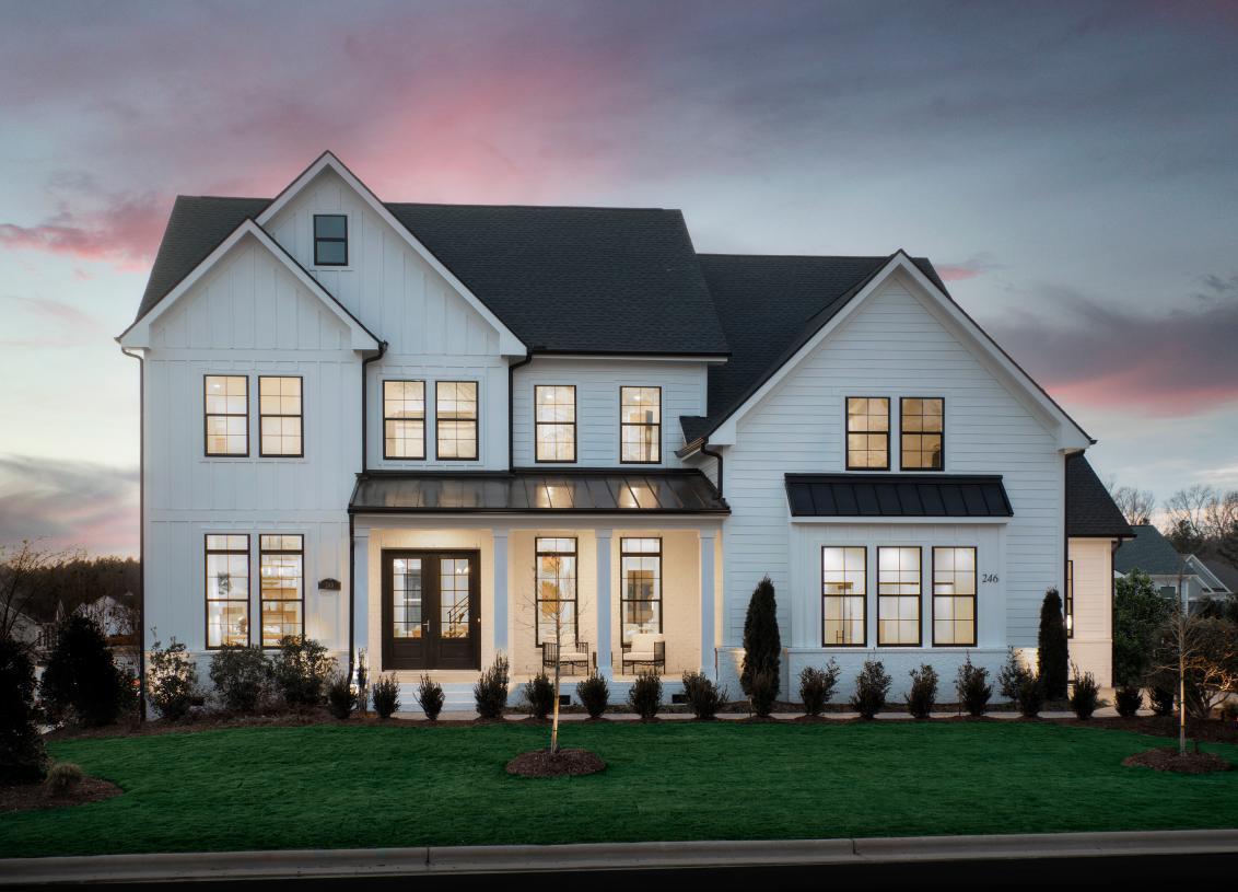 Gorgeous estate-sized homes