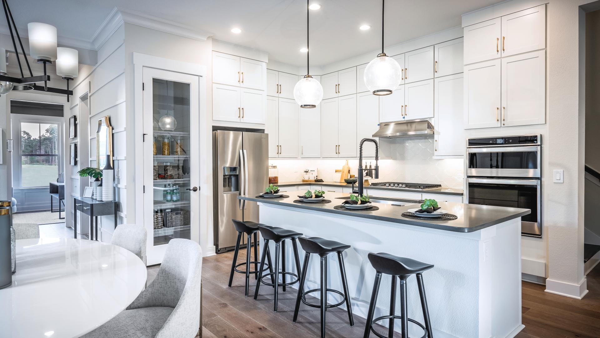 Well-appointed kitchens perfect for entertaining