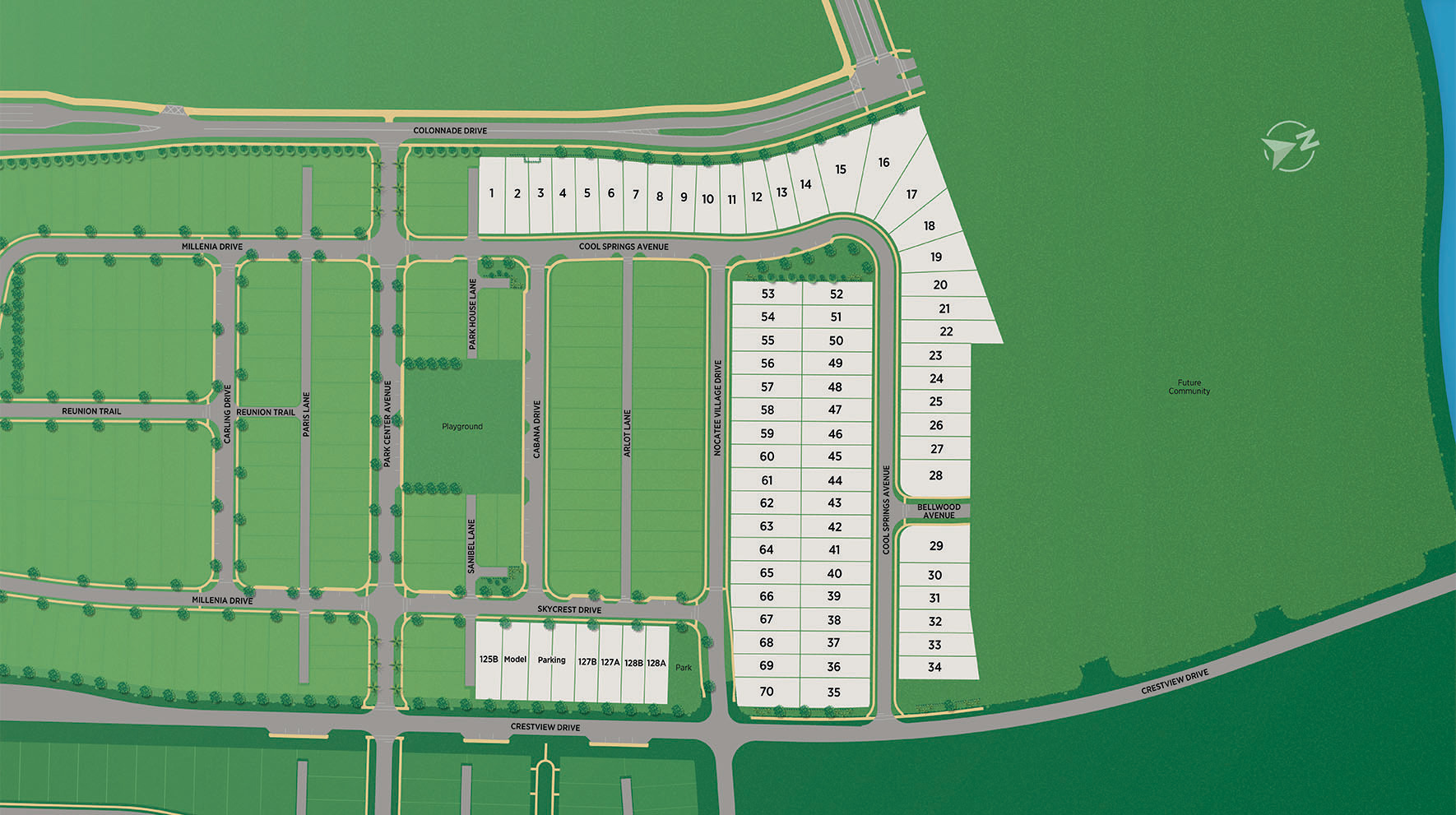 West End at Town Center Site Plan