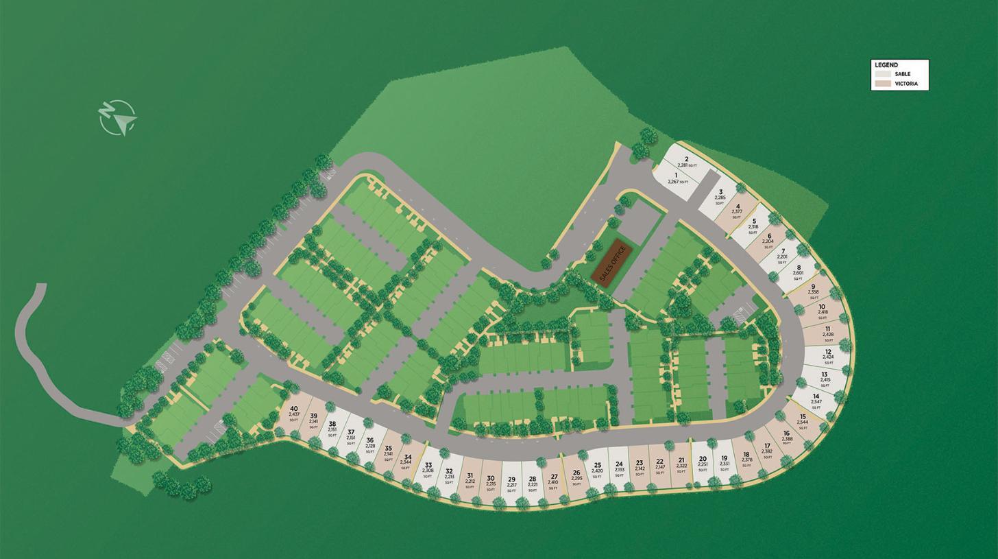 Twin Oaks - Arbor Site Plan