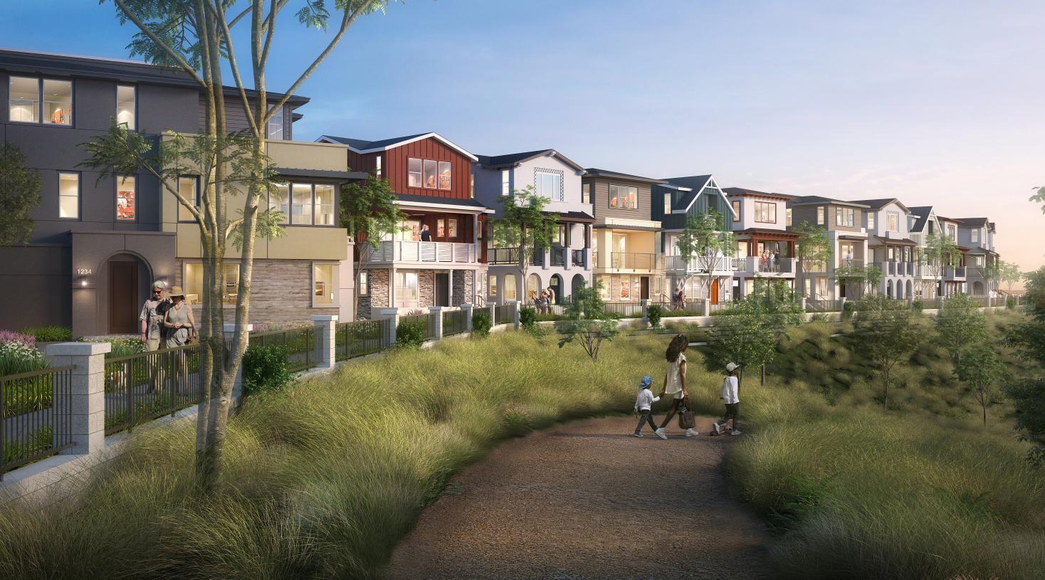 Community Promenade provides walking paths