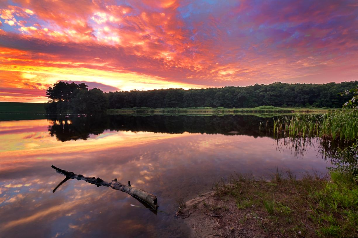 Hopkinton State Park is close to your new home