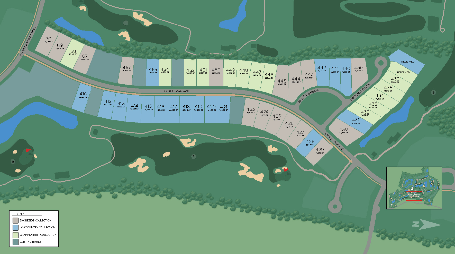 Riverton Pointe - Lowcountry Collection Site Plan