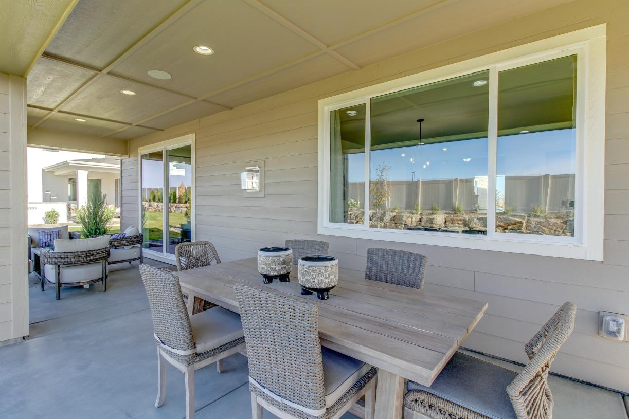 Covered patios for outdoor living