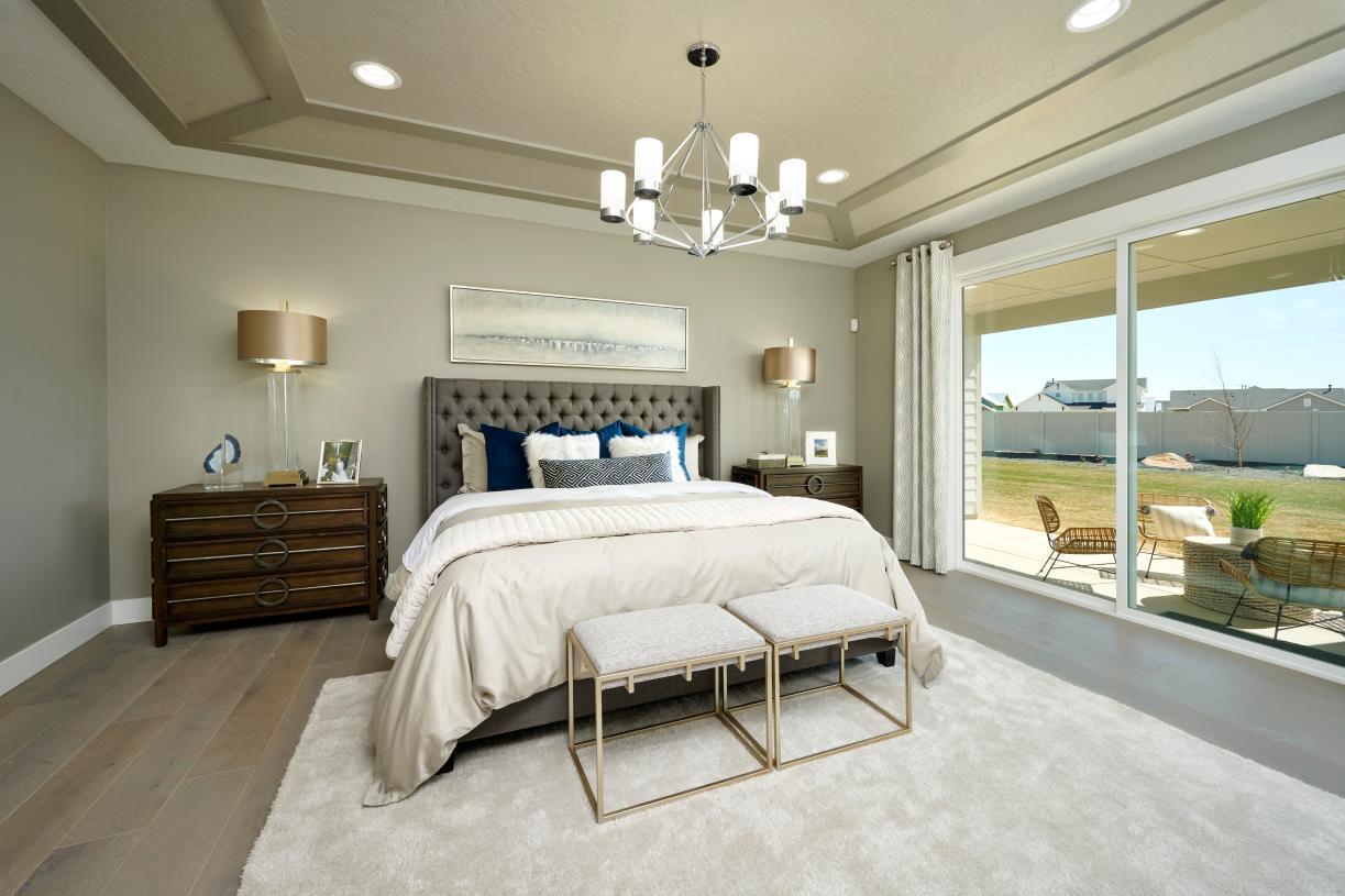 Luxurious primary suites