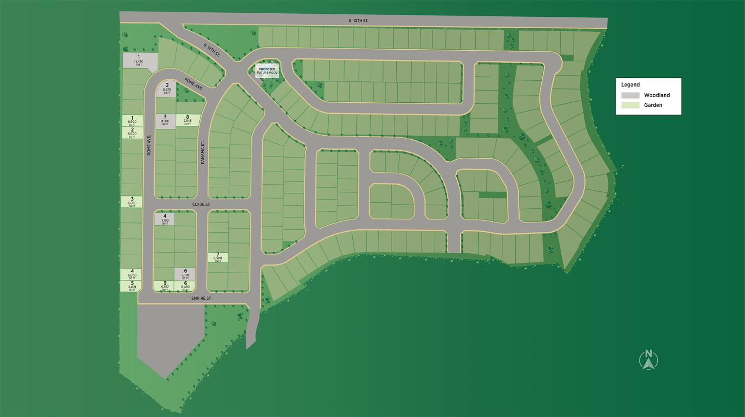 Toll Brothers at Highland Overall Site Plan