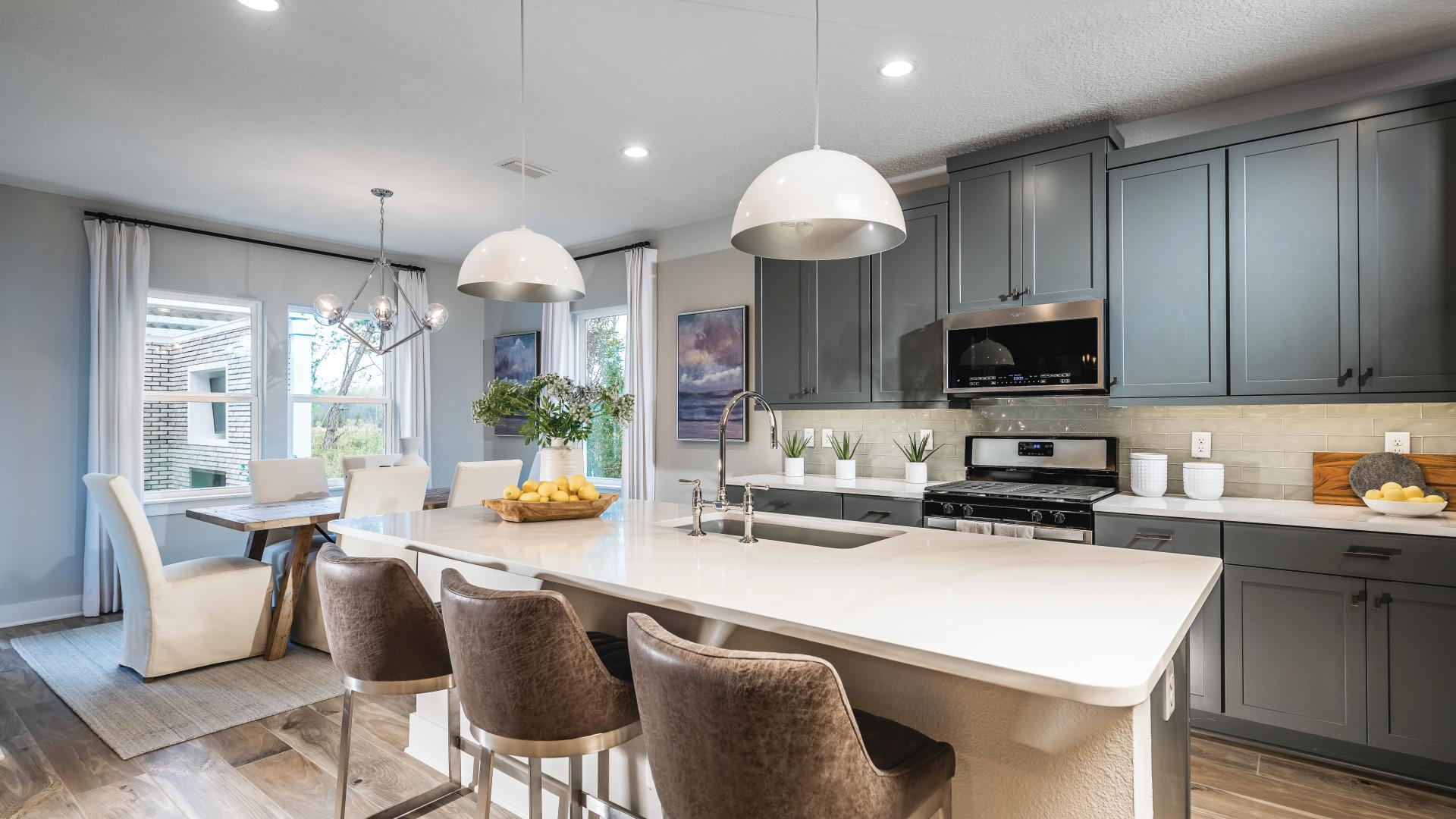 Well-designed kitchen layouts perfect for entertaining