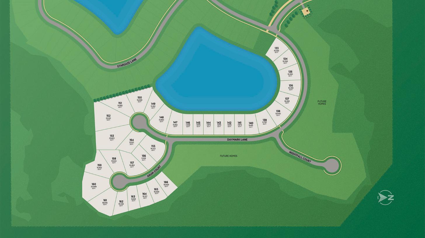 Preserve at Beacon Lake Site Plan